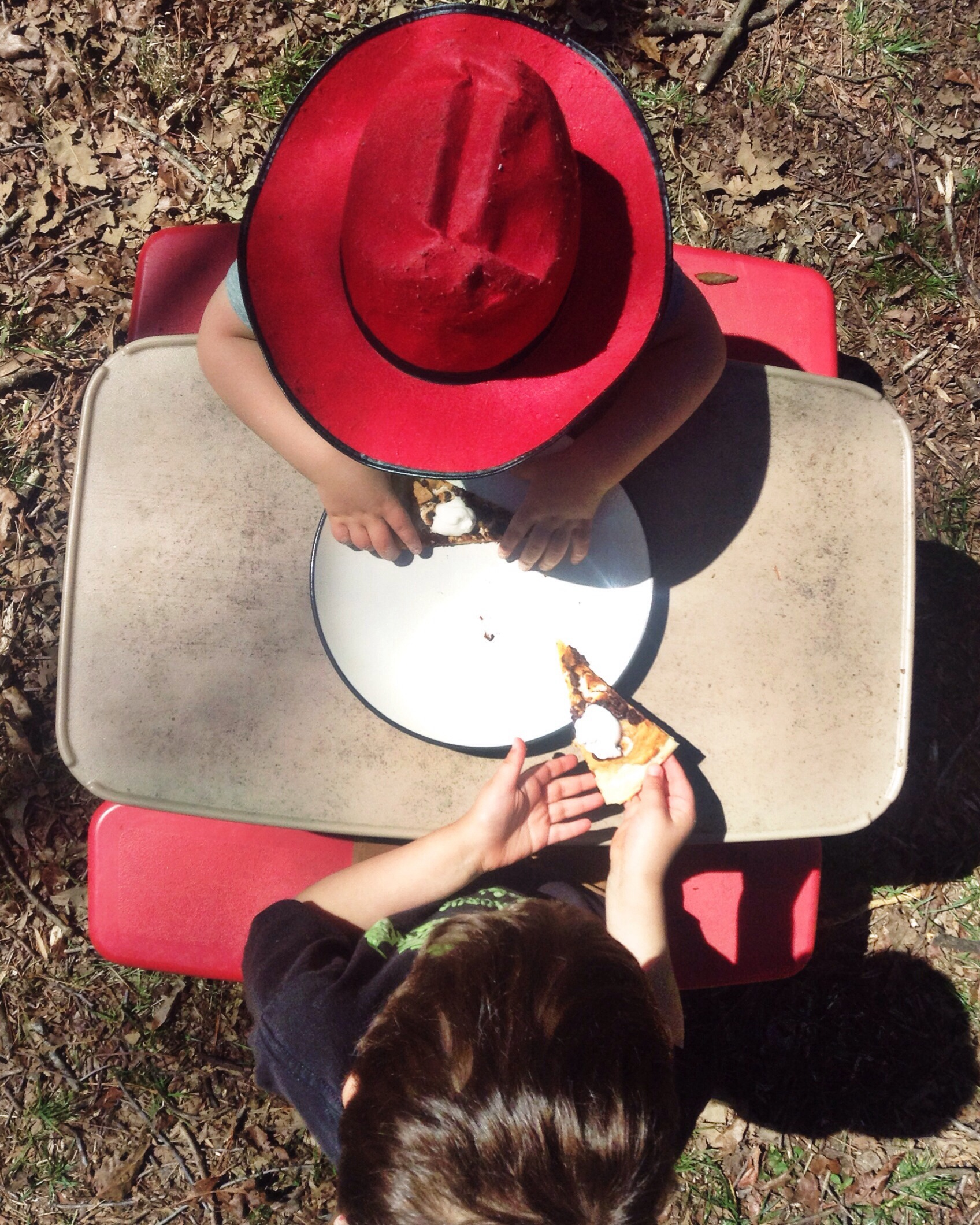dessert pizza picnic